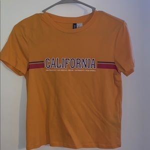 H&M California Graphic tee shirt